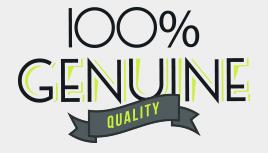 100% Genuine Quality